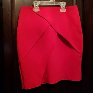 Nice red skirt size 4